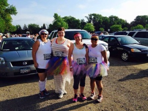 Color Run Team Photo
