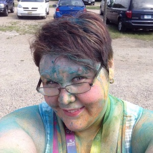 Post Color Run 15 Selfie